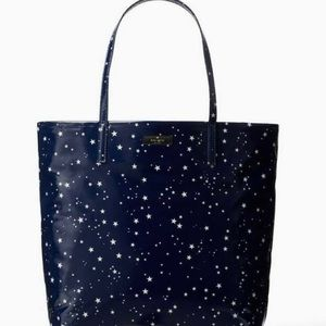 Kate Spade Daycation Night Sky Tote Bag - NWT